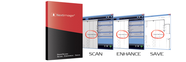 Wide-format scanning software